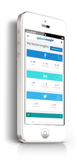 sociainsight responsive for iphone